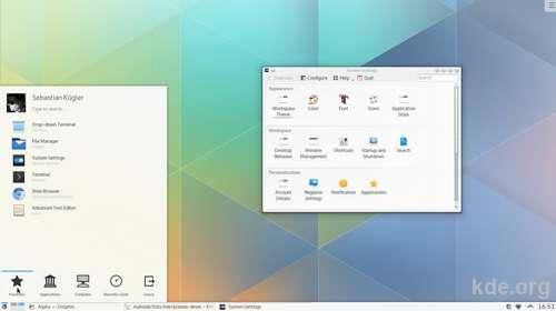 Plasma 5 - Neue Generation des KDE-Desktops