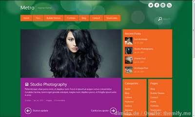 Windows Metro Theme für dein WordPress Blog
