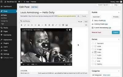 WordPress 4.0 veröffentlicht