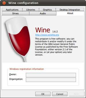 WineHQ unter Ubuntu