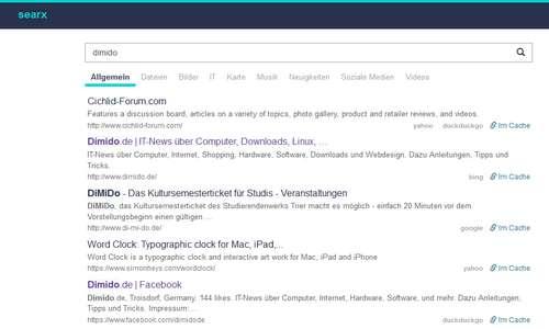 Searx - Bau dir deine eigene Suchmaschine