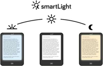 tolino vision 4HD mit SmartLight